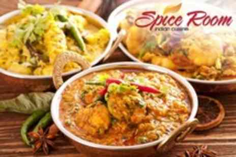 Spice Room - Two Course Indian Meal For Two With Rice and Bengali Tea - Save 62%