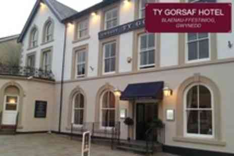 Ty Gorsaf Hotel - Two Night Stay For Two With Afternoon Tea and Breakfast - Save 50%