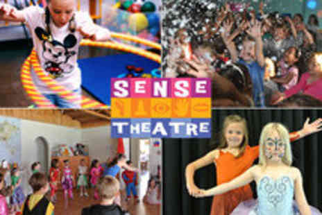 Sense Theatre Parties - 2 Hour Themed Parties from Sense Theatre for up to 35 Kids - Save 45%