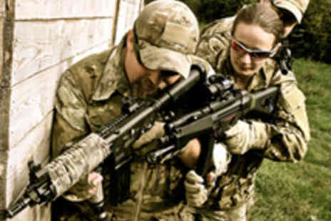 C3 Tactical - Full Day of Airsoft Action Game with Ammo - Save 77%