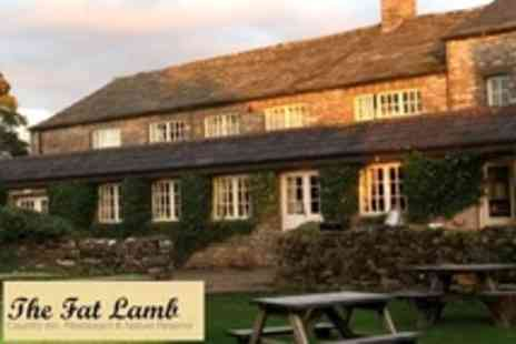 The Fat Lamb - Two Night Stay For Two With Breakfast - Save 50%