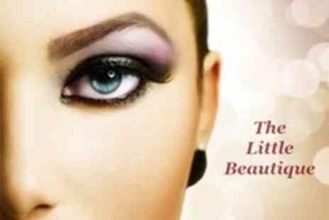 The Little Beautique - Semi Permanent Eyelash Extensions With Removal - Save 42%