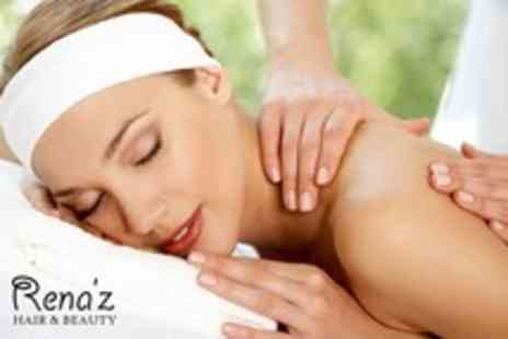 Renaz Hair & Beauty - One Hour Full Body Massage Plus Facial - Save 60%