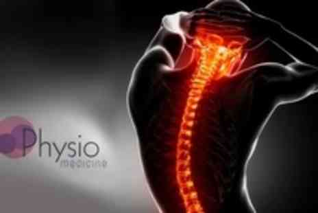 Physio Medicine - One Hour Massage With Spinal and Joint Assessment - Save 75%