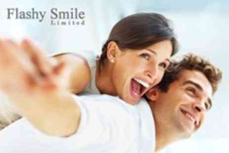 Flashy Smile - LED Teeth Whitening For One - Save 76%