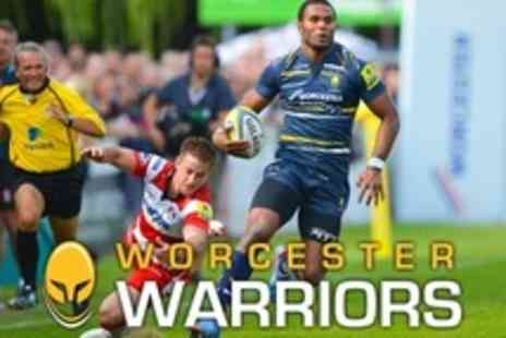 Worcester Warriors - Worcester Warriors v USA Perpignan on Thursday 6 December - Save 52%