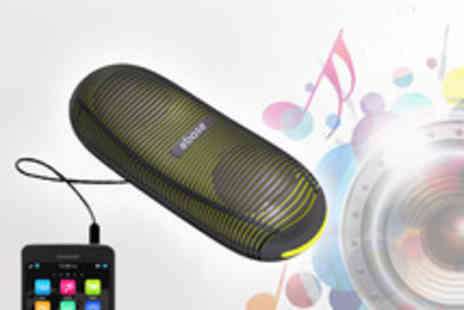 CPR Distribution - Ebase portable speaker bring the bass and save - Save 60%