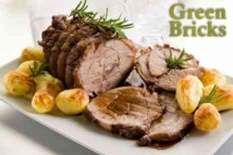 Green Bricks - Sunday Lunch For Two - Save 35%