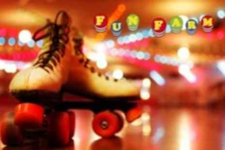 Fun Farm - Roller Disco For Two - Save 50%