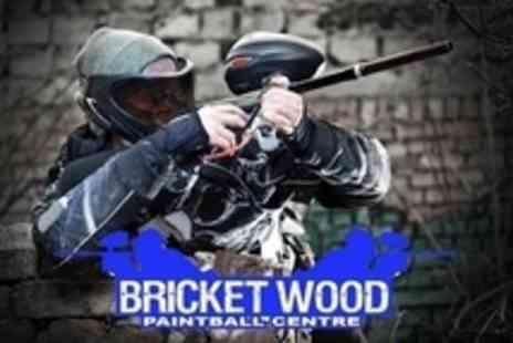Bricket Wood Paintball Centre - Paintballing For Ten With Lunch - Save 88%