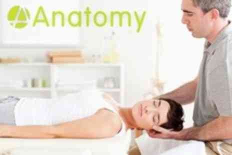 Anatomy - Choice of Massage Such as Deep Tissue Plus Postural Assessment - Save 8%