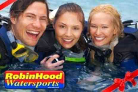 Robin Hood Watersports - PADI Scuba Diver Referral Course - Save 75%