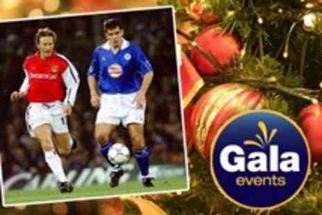 Gala Events - Christmas Dinner Gala With Martin Corry and Ray Parlour for One - Save 51%