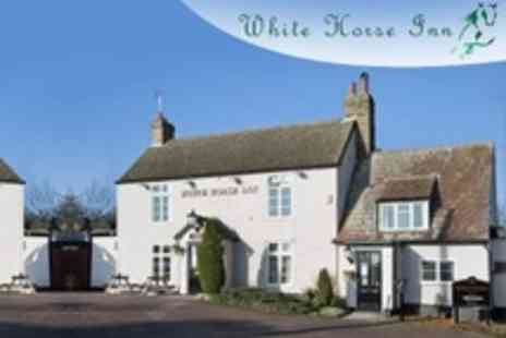 The White Horse Inn - Barton One or Two Night Stay For Two With Breakfast and Wine - Save 0%