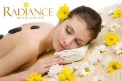 Radiance Health and Beauty - Massage Hot Stone, Aromatherapy, or Full-Body Swedish - Save 50%