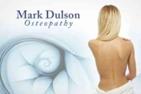 Mark Dulson Osteopathy - Mark Dulson Osteopath Consultation, Postural Analysis and Two Follow-Up Treatments - Save 81%