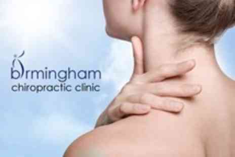 Birmingham Chiropractic Clinic - Chiropractic Package Consultation and Examination With Report of Findings and Follow Up Treatment - Save 89%