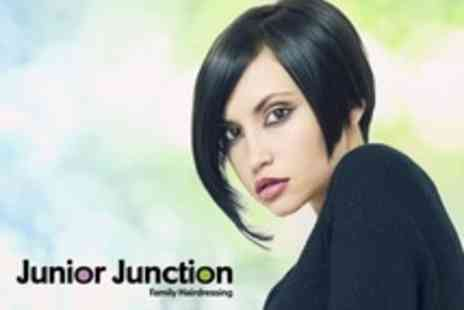 Junior Junction - Wash, Restyle Cut, Blow-Dry and Conditioning - Save 60%