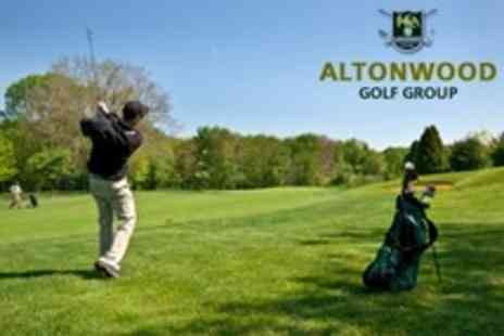 Altonwood Golf Group - Golf Day For Two with Range Balls - Save 68%