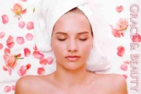 Grace and Beauty - Seaweed Body Scrub With Back, Neck, and Shoulder Plus Scalp Massage - Save 50%
