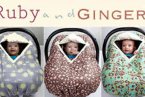 Ruby and Ginger - Celebrity Loved Cosy Car Seat Cover - Save 45%