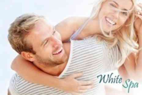 White Spa - Teeth Whitening Treatment For One - Save 87%