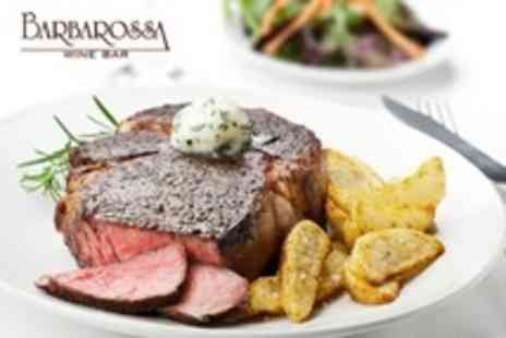 Barbarossa - Three Course Italian Meal For Two - Save 52%