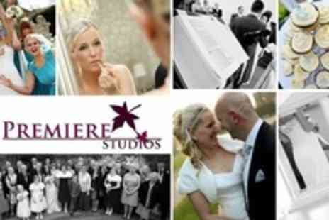 Premiere Studios - Wedding Photography Package With Prints, Image Disc and Follow Up Shoots - Save 70%