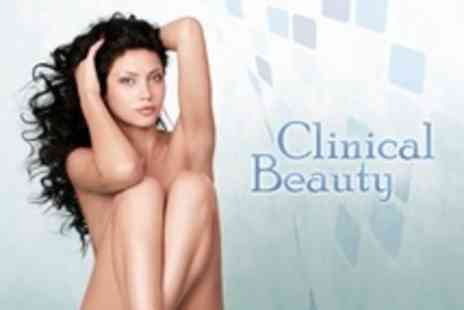 Clinical Beauty - Six Sessions of IPL on One Large Area Such as Bikini - Save 89%