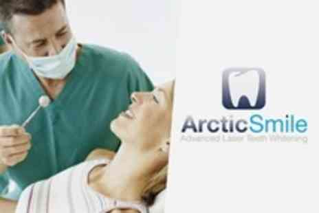Arctic Smile - Teeth Whitening Session For One - Save 77%