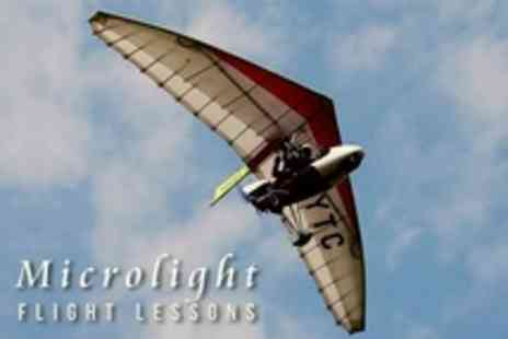 Microlight Flying Lessons - One Hour Microlight Flying Lesson - Save 45%
