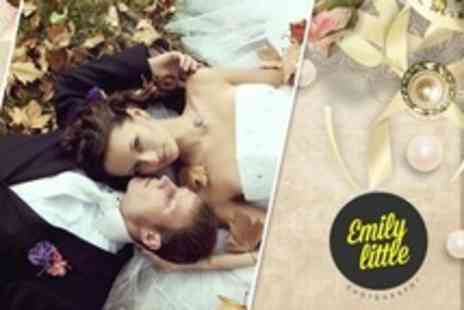 Emily Little Photography - Wedding Package With Prints and Image Disc - Save 18%