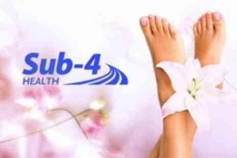 Sub 4 Health - Reflexology Session With Cleansing Foot Spa - Save 62%