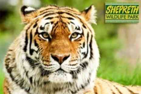 Shepreth Wildlife Park - Admission For Two - Save 50%