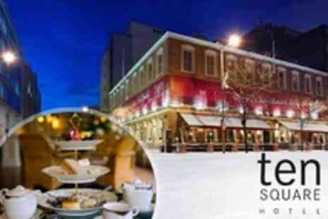 Ten Square Hotel - Afternoon Tea With a Twist With Teapot Cocktails For Two - Save 50%
