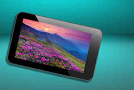 Box 2000 - 7 inch Android touchscreen tablet PC with camera and 4GB storage - Save 77%