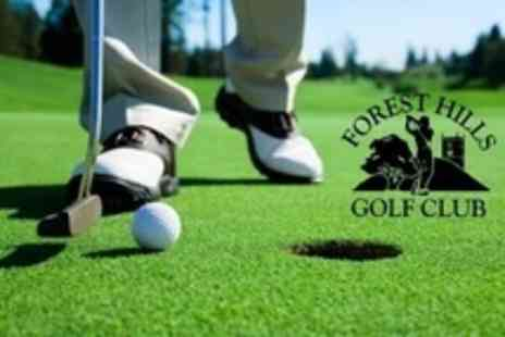 Forest Hills Golf Club - 18 Golf Holes For Two Plus Hot Soup and Roll Each - Save 33%