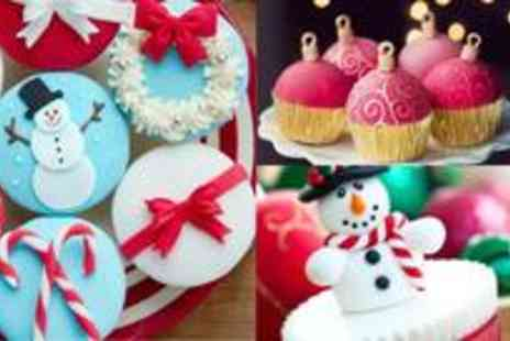 Angel Cakes - Christmas cookies and cupcakes decorating class - Save 73%