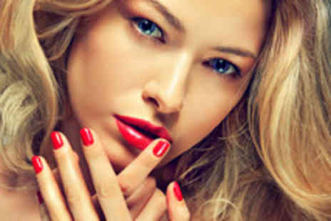 Secrets Nail Bar - Manicure and pedicure including polish - Save 68%
