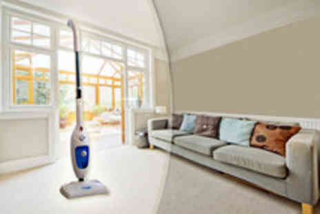 Wowcher Stores - 7 in 1 Vapour X700 steam mop To clean floors,carpets,windows and clothes - Save 50%