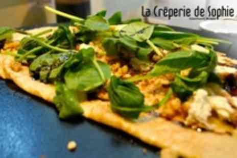 La Creperie de Sophie - Crepes With Tea or Coffee For Two - Save 54%