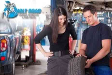 Holt Road Garage Services - 66 Point Car Service With Wheel Alignment, Winter Check and Puncture Repair - Save 71%