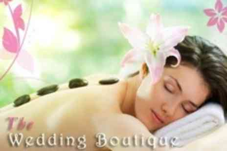 The Wedding Boutique - One Hour Full Body Hot Stone Massage - Save 68%