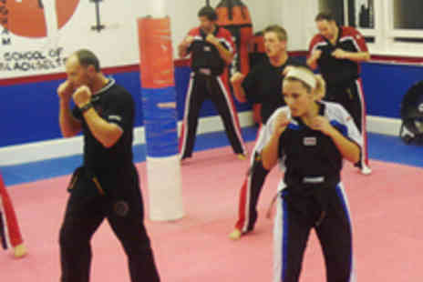 Nottingham School of Blackbelts - Kickboxing or Mixed Martial Arts Classes - Save 53%