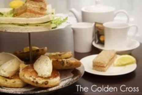 The Golden Cross - Winter Afternoon Tea For Two With Liqueur Coffee Each - Save 30%