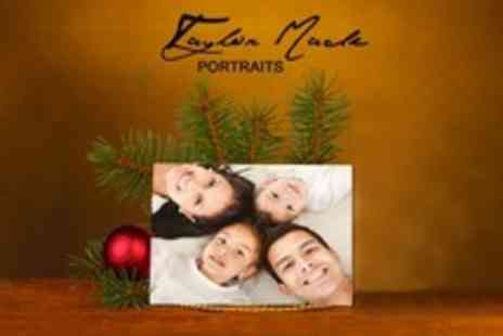 Taylor Made Portraits - Group Photoshoot With 20 Christmas Cards - Save 50%