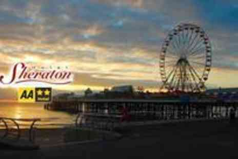 Hotel Sheraton - One night stay for two including breakfast on a brilliant seaside Blackpool break - Save 54%