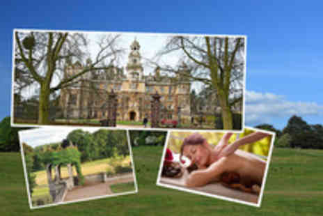 Thoresby Hall Hotel - One night festive spa break including 3 course meal & breakfast - Save 25%