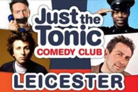 Just the Tonic Comedy Club - Live Comedy For Two With Glass of Wine, Beer or Cider Each - Save 60%