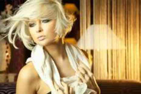Cianna Hairdressers - Full head of colour or a half head of highlights plus a wash, cut and blow dry - Save 84%